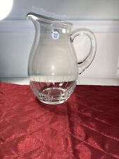 Princess House Vignette Crystal Pitcher Rare New In Box #6439