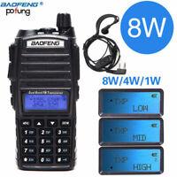 Baofeng UV-82 8W Two Way Radio Walkie Talkie Dual Band VHF UHF Portable Radio