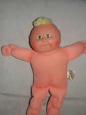 """Cabbage Patch Kids Play Along   Xavier Roberts 14"""" Tall Blue Eyes No Clothes"""