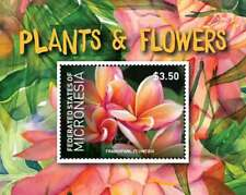 Micronesia - Plants and Flowers Stamp - Souvenir Sheet MNH