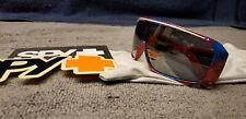 Spy Sunglasses Tron Hipster Plaid Grey Frames with Silver Lens NO BOX