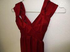 Venus Dress Rust Knit  Size S NWOT #K27