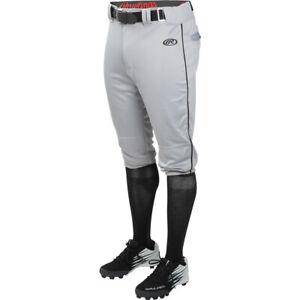 Rawlings Launch Piped Knicker Youth Baseball Pants - Short Pants YLNCHKPP