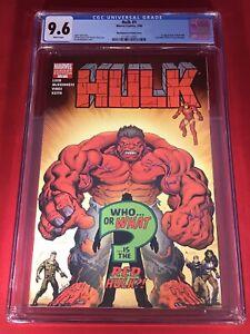 HULK #1 RARE McGUINNESS VARIANT CGC 9.6 * 1st RED HULK ** HUGE 🔑 BRAND NEW CASE