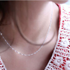 Ladies 925 Sterling Silver Snowflake Diamante Pendant Necklace Christmas Gifts