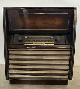 Meuble radio  Grundig vintage
