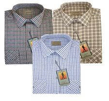1588 Men Traditional Country Classics Long Sleeve Check Shirts M- 6XL  Tom Hagan