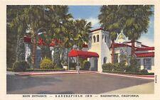 BAKERSFIELD CALIFORNIA CA BAKERSFIELD INN LOT OF 2 POSTCARDS 1940s