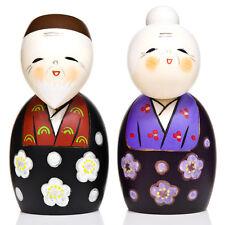 Grande vie heureuse ensemble kokeshi doll set