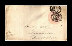 DR JIM STAMPS QUEEN VICTORIA EMBOSSED BACKSTAMP UNITED KINGDOM SMALL SIZE COVER