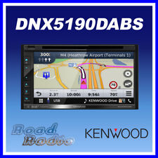 "Kenwood DNX5190DABS 6.8"" GPS Bluetooth DAB Radio Apple CarPlay Android Auto"