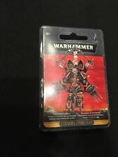 Warhammer 40k CSM Chaos Lord With Jump Pack GWS 43-68 (Resin) NIB