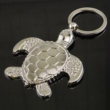 Mini Tier Schlüsselanhänger Ring Schlüsselring Schlüssel Meeresschildkröte