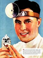 ADVERTISING CIGARETTES TOBACCO SMOKING DOCTOR IRONY WEIRD CRAZY USA POSTER LV600