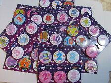 AGE BIRTHDAY BADGES ( One badge)