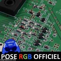 SERVICE POSE RGB OFFICIEL (CMS) - Nintendo 64 N64 PAL NUS-001(FRA) - VENDEUR PRO