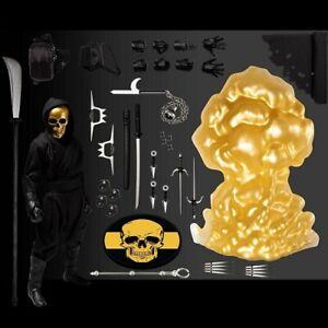 Mezco One:12 House of The Golden Skulls Gold Skull Ninja Figure