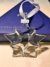 Swarovski Annual Edition 2019 Crystal Christmas Ornament Large Star AUTHENTIC