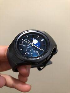Samsung Galaxy Gear S2 42mm SM-R730 Stainless Steel Case Wi-Fi Smartwatch Black