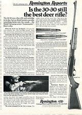 1975 Print Ad of Remington Reports Model 760 Gamemaster 30-30 Deer Rifle