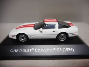 CHEVROLET CORVETTE C4 1984 AMERICAN CARS 1:43 ALTAYA IXO