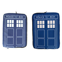 Doctor Who Tardis Laptop Case Sleeve. Cool Funky Computer Gift for Dr Who Fan