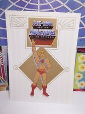 VINTAGE MASTERS OF THE UNIVERSE HE-MAN PRESS RELEASE lot She-ra ghostbusters