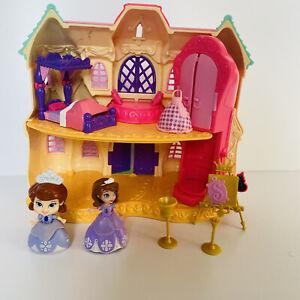 Disney Sofia The First Royal Castle Of Enchancia Playset & Figure