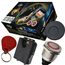 passive alarm car ignition start stop button with rfid immoblizer feature