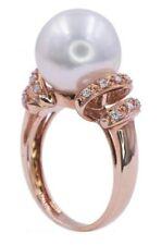 Art Deco South Sea Pearl Ring 14 K Rose Gold