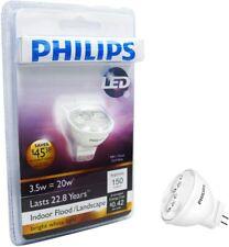 Philips MR11 LED Light Bulb Bright White Indoor/Outdoor Flood 20W Landscape