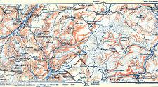Prüm Birresborn 1910 orig. W-Karte + Wanderf (5 S.) Mürlenbach Schönecken Kopp
