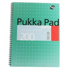 Pukka Pad - A4 80gsm Wire bound 200 Pages 100 Sheets - WH2-R4 -PB149 - NEW BOOK