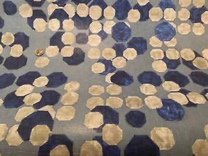 10YD GROUNDWORKS Kelly Wearstler HEX Marine 80% Linen Artisanal Wallpaper ITALY