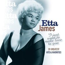 ETTA JAMES - I JUST WANT TO MAKE LOVE   CD NEW+