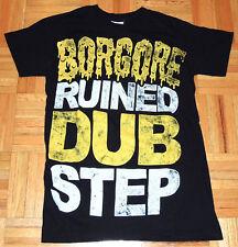 Borgore DJ Techno Dubstep T Shirt Tour Alphamale Primates Tel Aviv Israel Sz XS