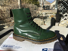 80s Vintage Dr. Martens Solovair Racing Green US 9 Boots 1460 doc shoes 8eye uk7