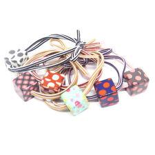 Bandes Élastiques Cheveux Clips Pour Les Filles Lot de 6 pcs - Cube de couleurs