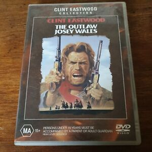 The Outlaw Josey Wales DVD R4 Like New! FREE POST