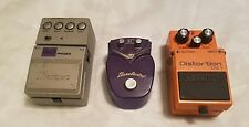 Lot of 3 different Guitar Effect Pedals Ibanez phaser boss distortion
