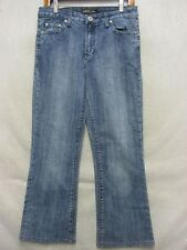 D6583 Gasoline Stretch High Grade Straight Jeans Women 31x28