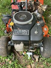 USED/LOW HR JOHN DEERE FC540V 17Hp KAWASAKI COMPLETE ENGINE W/HARNESS, RUNS GOOD