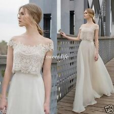 2017 Wedding Dress Beach Custom Made Sheath Bridal Gown Simple New A Line Dress