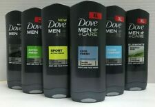 ASSORTED Men + Care Body Wash Face Wash 400 ml (4 Packs) - Choose Your Scent