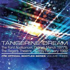 Tangerine Dream - Official Bootleg Series Vol 3 [New CD] UK - Import