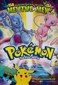 "Pokemon - The First Movie - Movie Poster / Print (Size: 27"" X 39"")"