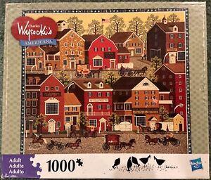 Charles Wysocki's Americana Jigsaw Puzzle - Lilac Point Glen
