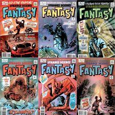 STRANGE SCIENCE FANTASY 1 2 3 4 5 6 Comic Set Fiction Scott Morse Fantasy TV IDW