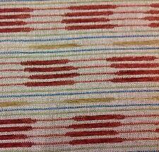Fabricut Chenille Ethnic Upholstery Fabric- Soho Stripe / Henna 8.0 yd 5784003