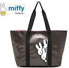 Miffy Black Shoulder Bag Handbag TOTE Drawstring Shopping Bag
